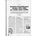 SI100 Sarjakuvamarkkinain vuodet 1971-1981 ja vuodet sillä välillä