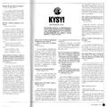 SI101 Kysy