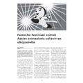 SI128 Fantoche-festivaali esitteli Aasian animaatiota valtavirran ulkopuolelta
