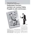 SI128 Kadonneen Suomen symboli, 80-vuotias Pekka Puupää on yhä voimissaan