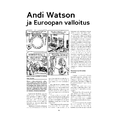 SI132 Andi Watson ja Euroopan valloitus