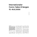 SI132 - Internationaler Comic Salon Erlangen 15.-18.6.2006