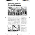 SI134 - Aurinkoa ja sarjakuvaa Etelä-Afrikassa
