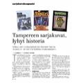 SI151 Sarjakuvakaupunki: Tampereen sarjakuvat, lyhyt historia