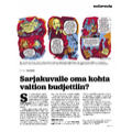 SI153 Uutisruutu: Sarjakuvalle oma kohta valtion budjettiin?