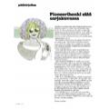 SI155 Pääkirjoitus: Pioneerihenki elää sarjakuvassa