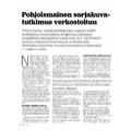 SI155 Pohjoismainen sarjakuvatutkimus verkostoituu