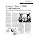 SI157 Ajan vangit: Reaalipolitiikan kriitikko Kekkoslovakiassa