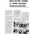 SI22 Kalle-Kustaa Korkki ja Pekka Lipponen sarjakuvasankareina
