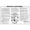 SI24 Barksin karhukirja