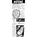 SI30 Muumi, Sarjakuva-muumin synty