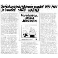 SI32 Sarjakuvamarkkinainvuodet 1971-1981 ja vuodet sillä välillä