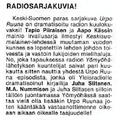 SI50 Radiosarjakuvia