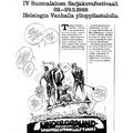 SI58 IV Suomalainen Sarjakuvafestivaali 1988 Helsingin Vanhalla Ylioppilastalolla