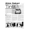 SI83 Aimo Sakari suomensi ensimmäiset Tintit