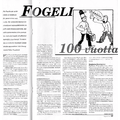 SI83 Fogeli 100 vuotta