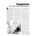 SI84 Casanova hurmasi Hunt Emersonin