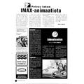 SI96 Petrov tekee IMAX-animaatiota / Animaatiouutiset