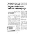 SI138 Sarjakuvantekowiki