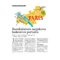 SI146 Sarjakuvakaupunki Pariisi