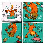 Sivu Madonreikiä-sarjakuvaromaanista